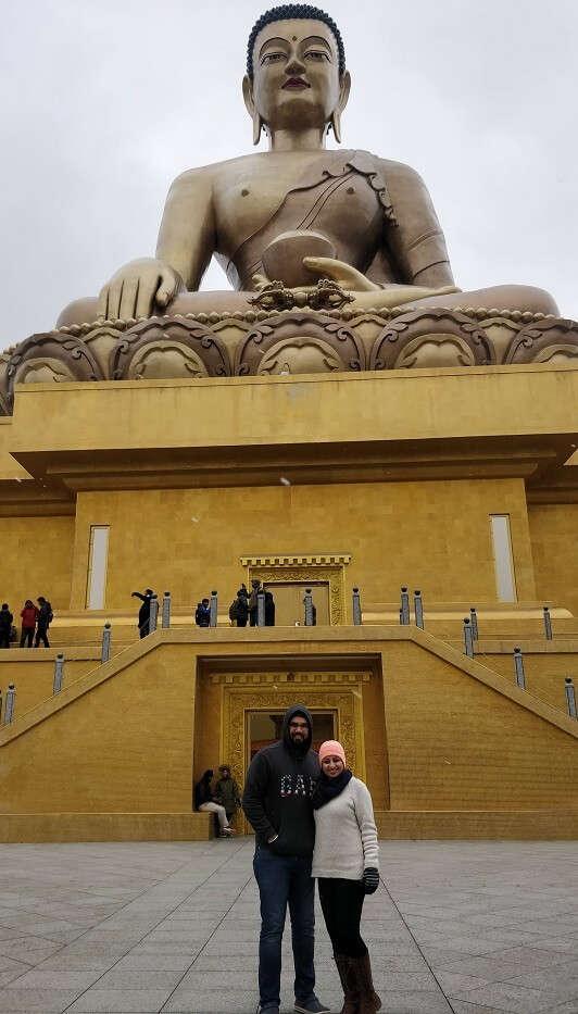 marvelous Buddha Dordenma Statue