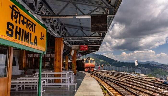 Shimla Station View