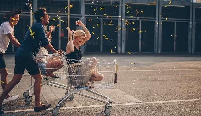 Keep Shopping Till You Can