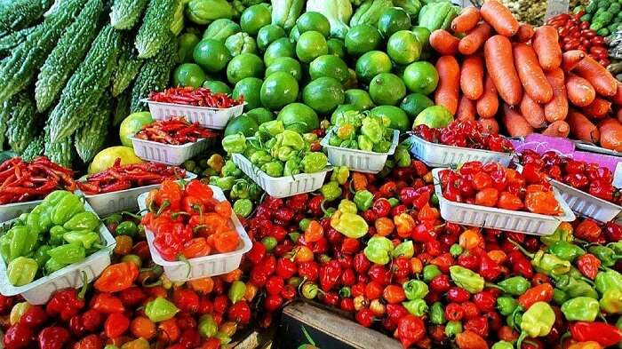 Ripe Vegetable Farmers Market Various Fresh
