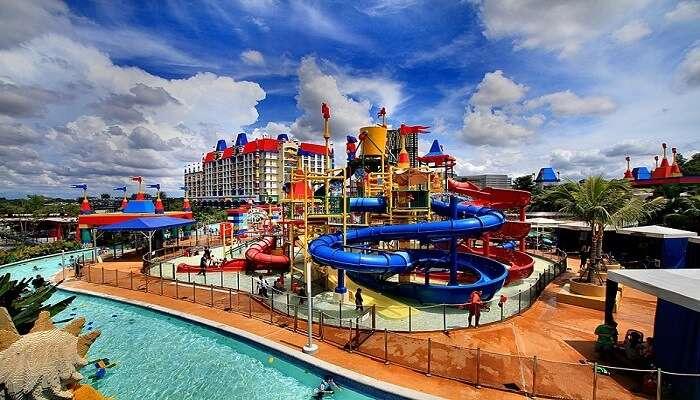 famous theme park