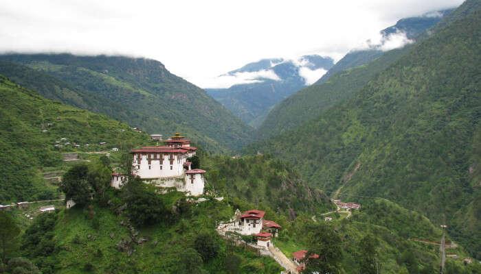 Lhuentse in Bhutan
