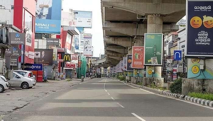M G Road In Kochi