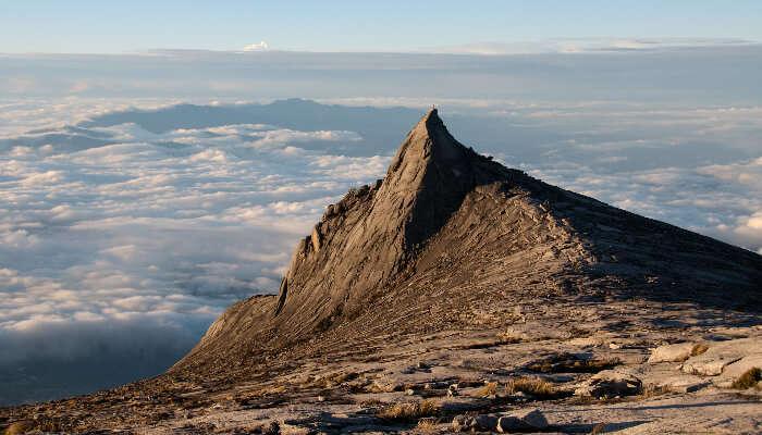 Mount Kinabalu in Malaysia