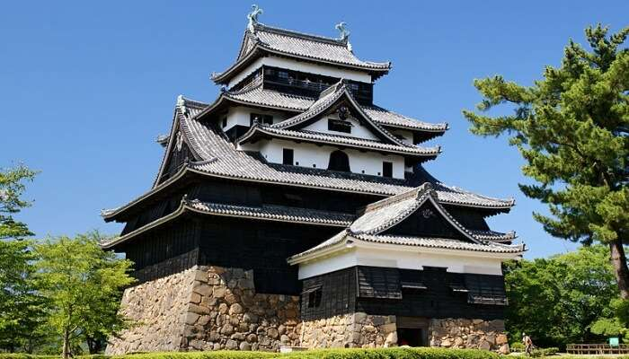 Matsue Castle In Tokyo