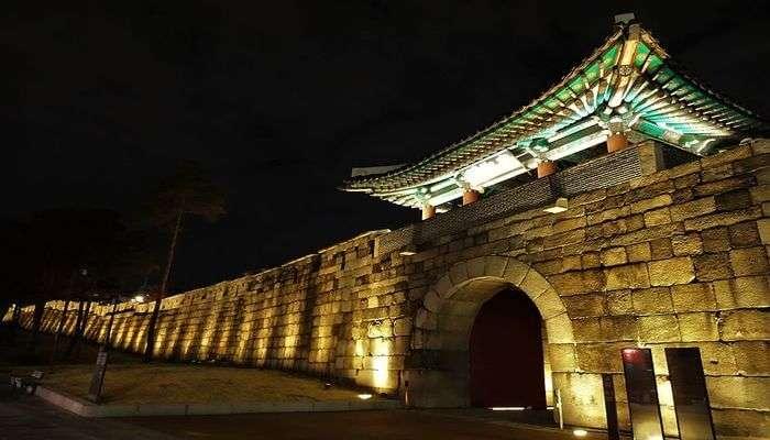 Night Hiking At Fortress