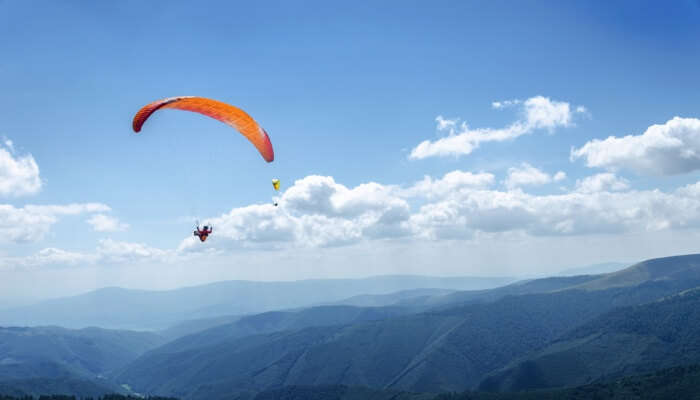 Paragliding in Mingus