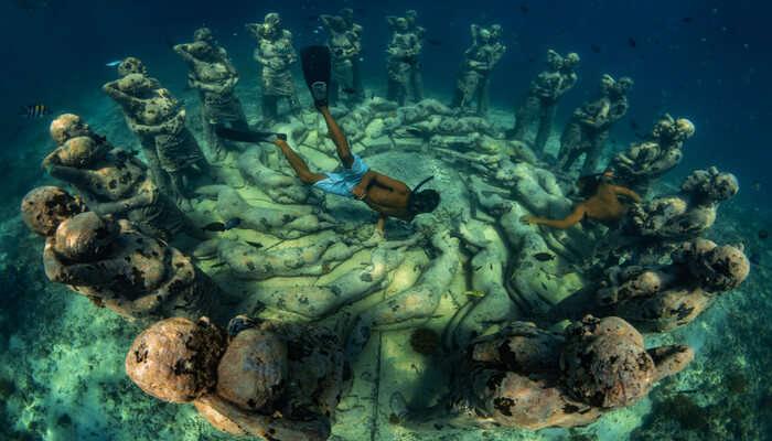 Pemuteran Underwater Temple