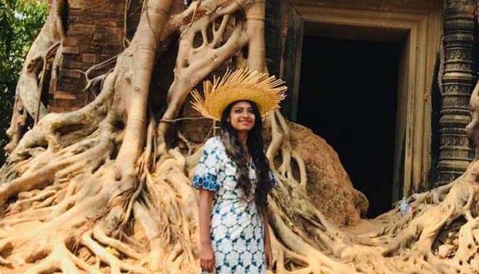 Priya at Ta Prohm