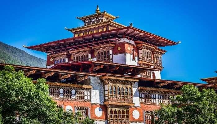 Punakha Dzong View