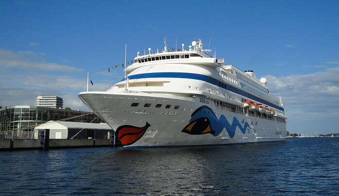 Cruise Port Kiel Passenger Ship Baltic Sea Ship