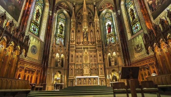 Saint Patrick's Basilica View