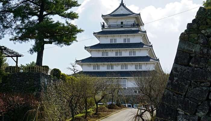View Of Shimabara Castle
