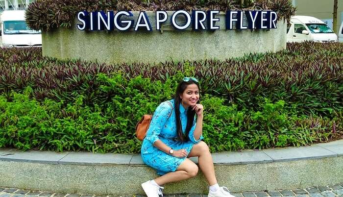 Best experience Singapore flyer