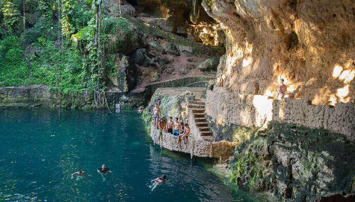 Swim In A Cenote