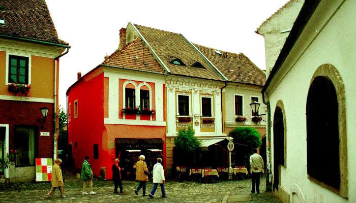 Szentendre  Town Budapest