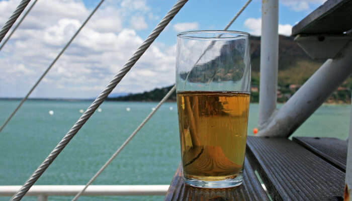 Drinks on cruise