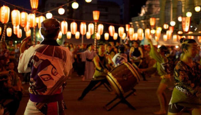 Tsukiji Honganji Temple Bon Odori Festival