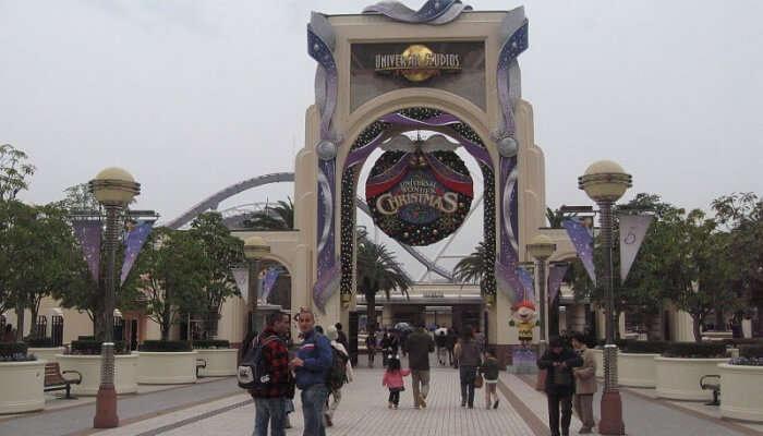 Universal Studios Japan View