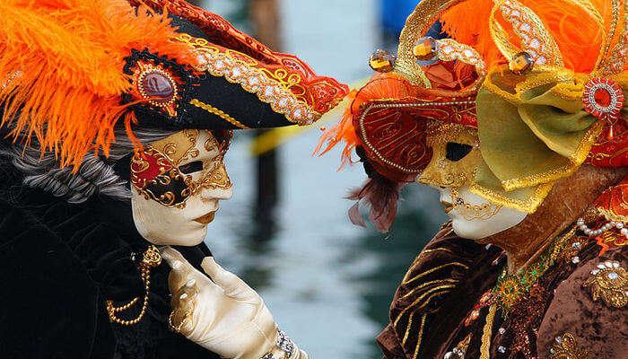 Venice Carnival, Italy