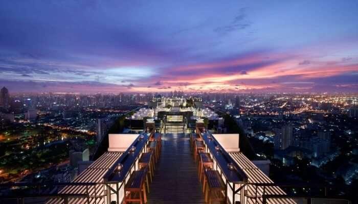 Vertigo Rooftop Fine Dining Tour