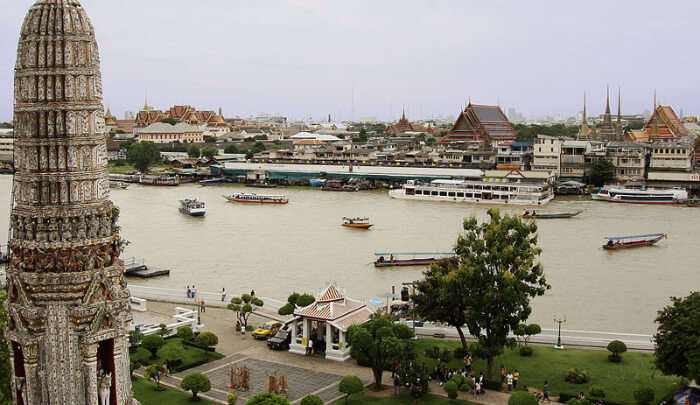 Wat Arun Riverside View