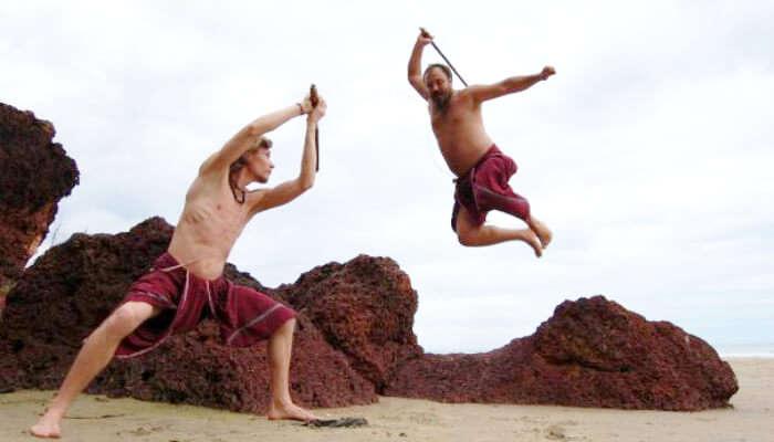 Kalaripayattu martial arts in Kerala