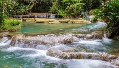 Waterfalls in Jamaica