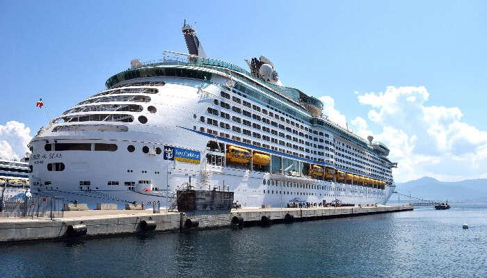 Western Mediterranean cruises in Italy