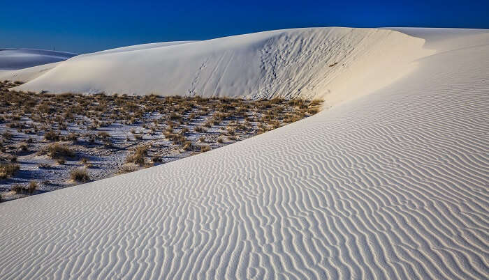 White Sands National Monument - New Mexico...dawn in the desert...