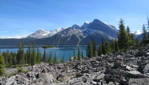 Wolf Lake in Canada
