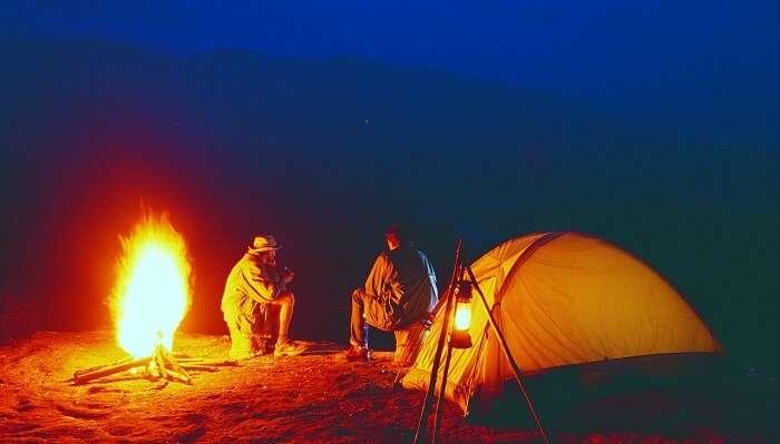 camping in kerala