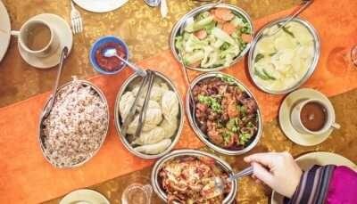 Delicious Street Food In Bhutan