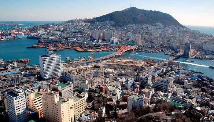 Beautiful Busan In August