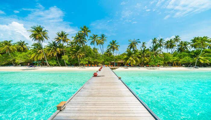 Best artificial beach maldives
