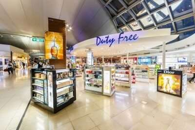 duty free at airport