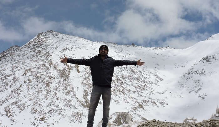 khardungla pass view