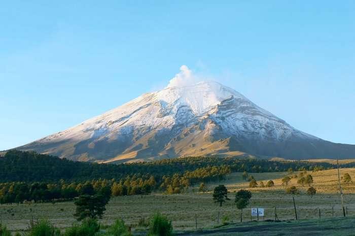 mountain peak in mexico