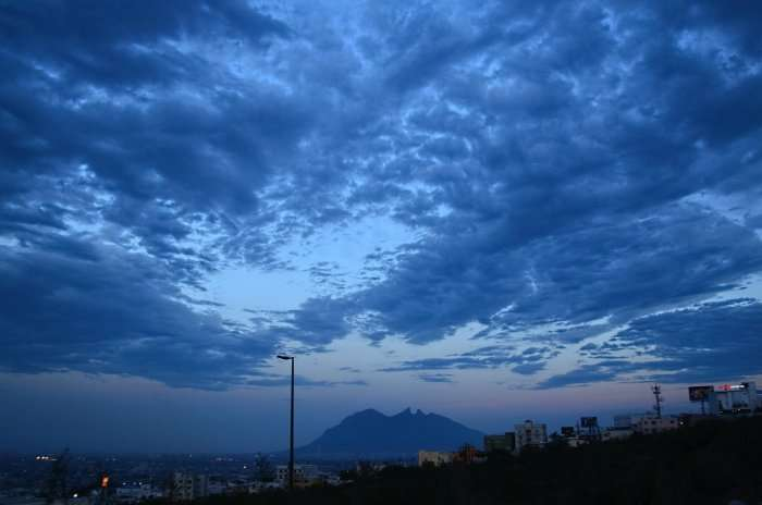 monsoon sky in mexico