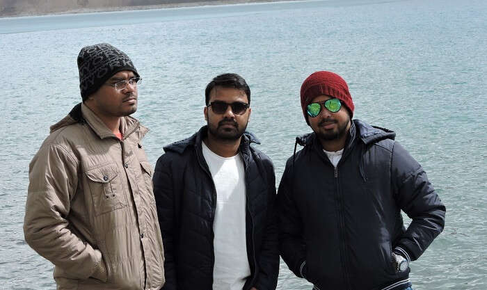 clicked the best snapshots in pangong
