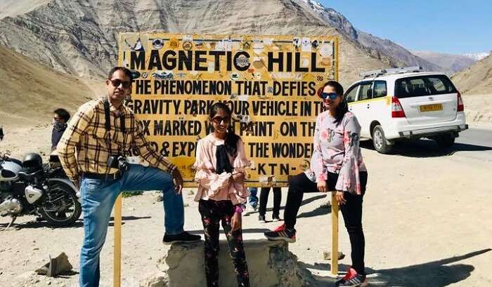 visiting the magnetic hill