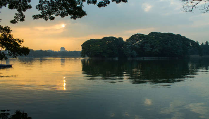 Ulsoor Lake in Bangalore