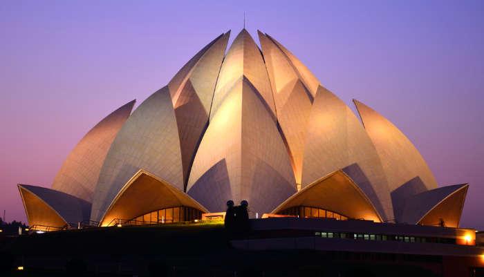 Kamal Temple in Delhi