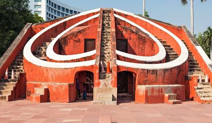 Disha yantr in  Jantar Mantar, Jaipur