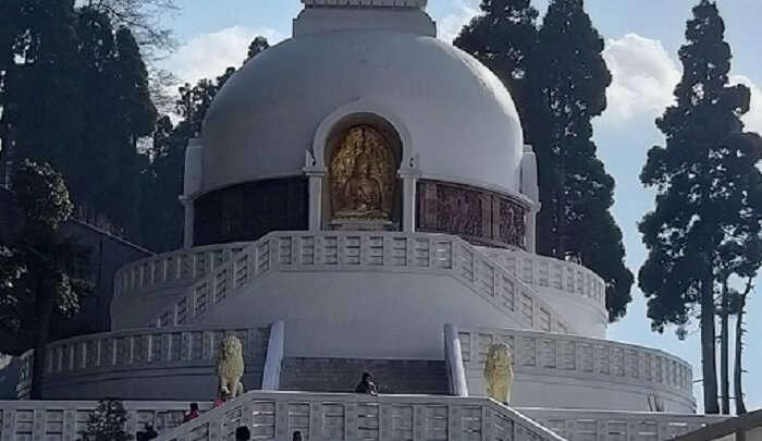 A buddhsit stupa