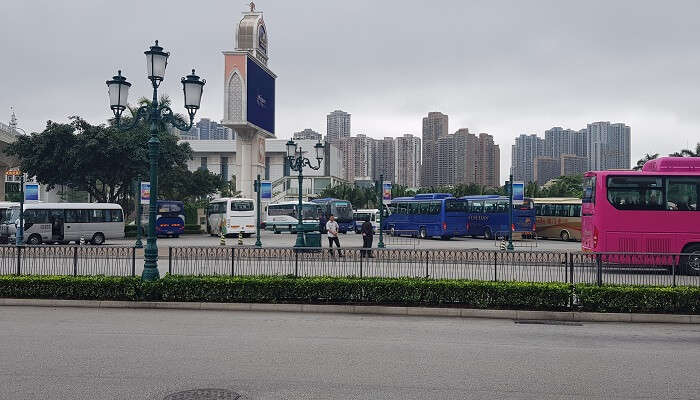 local sightseing of Macau