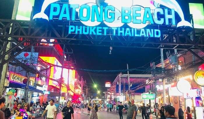 Patong Beach in Thailand