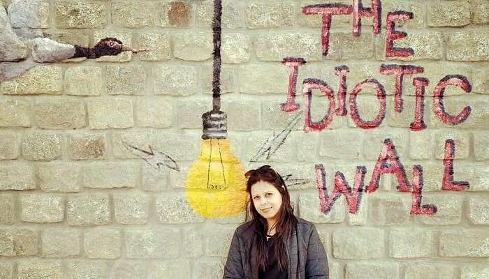 3 idiots wall in Leh