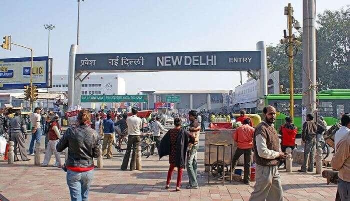 new delhi railway station'