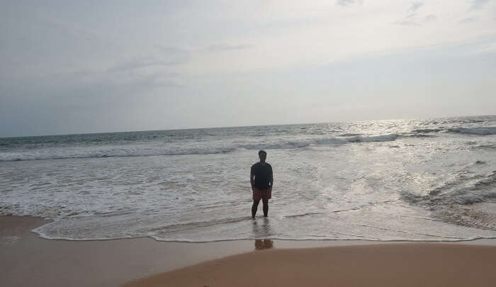 Walks On Ahungalla Beach